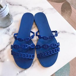 popular shoes for girls UK - Popular Slippers For Girl 2020 Kids Solid Gladiator Soft Leather Round Toe Children Shoes Fashion Princess Dress Slippers Summer#708