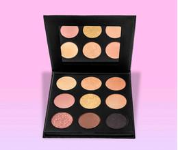 Powder Makeup Palette UK - kylie Makeup Palette Nice Eyeshadow palette Pressed Powder Eye Shadow Powder 9 colors in stock free shipping