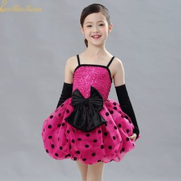 Wholesale cute costume dresses for women for sale – halloween Cute Rose Polka dot Sequins Ballet Dress Tutu Ballet For Girls Women Modern Costume Adult Stage Performance Dance Dress