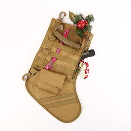 magazine dump pouch 2019 - Tactical Molle Christmas Stocking Bag Dump Drop Pouch Utility Storage Bag Military Combat Hunting Magazine Pouches #8576