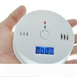 carbon monoxide alarms NZ - CO Carbon Monoxide Tester Alarm Sensor Warning Detector Gas Fire Poisoning Detectors LCD Display Security Surveillance Home Safety Alarms