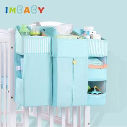 $enCountryForm.capitalKeyWord Australia - IMBABY Portable Baby Crib Organizer Bed Hanging Bag for Baby Essentials Diaper Storage Cradle Bag Bedding Set Supplies