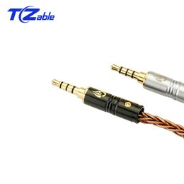 Female Plug 3.5mm UK - 3. 5MM Audio Cable Plug Male To Female Earphone Adapter 4 Level Assembly Plug 6MM Tail Hole For Audio And Video Patch Cord