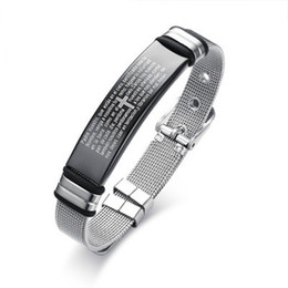 stainless steel slide bracelets NZ - Men Bracelet Camouflage Stainless Steel Slide Buckle Cool Fashion Watch Brands Chain Link Soldier Military Anniversary Gifts BR-520