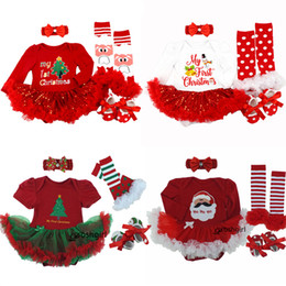 suit rompers NZ - Infant Baby Girl Summer Suit Novelty Costume Baby Christmas Clothing Sets Bebe Rompers Birthday Party Cosplay Gift 3 6-9 12 18MMX190912