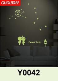 $enCountryForm.capitalKeyWord Australia - Decorate Home Diy baby star cartoon art glow wall sticker decoration Decals mural painting Removable Decor Wallpaper G-553