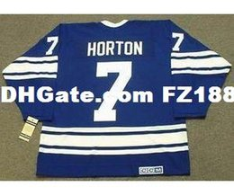 $enCountryForm.capitalKeyWord NZ - Mens,Womens,Kids-TIM HORTON Toronto Maple Leafs 1967 CCM Vintage M&N Custom Any Name&No. Hockey Personalized Jerseys Goalit Cut Jerseys