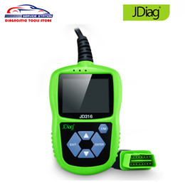 odb2 scanner Australia - JDiag JD316 OBD2 Automotive Engine Fault Code Reader ODB2 Auto Scanner Read Clear Fault Code Support CAN K-line