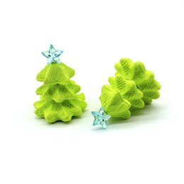 $enCountryForm.capitalKeyWord UK - 3D Christmas tree eraser removable rubber eraser stationery school supplies papelaria kids penil eraser toy gift Free shipping -252