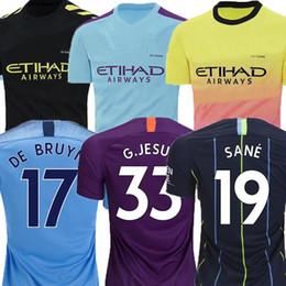 Thailand Shirts Australia - New Thailand FORDEN Manchester KUN AGÜERO DE BRUYNE City 19 20 soccer jerseys MAHREZ jerseys maillot de football shirts camisa de