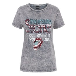 """Silver Rolled Chain Australia - The Rolling Stones - T-shirt délavé - Femme (NS4749)ALICE IN CHAINS """"TRI CELL"""" BLACK T-SHIRT NEW OFFICIAL ADULT Men Women Unisex Fashion"""