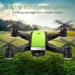 1 Unids Quadcopter RC Drone Plegado FPV Wifi Modo Sin Cabeza Sensor de Gravedad HD Lente S7JN