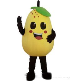 Adult Factory Clothes Australia - 2019 Discount factory sale yellow pear mascot costume role playing Pears cartoon clothing adult size