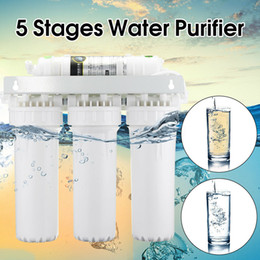 ReveRse osmosis wateR filteRs online shopping - 5 Stage Water Filters Home Drinking Reverse Osmosis System RO Purifier Faucet