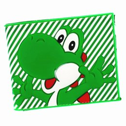 Discount cool wallet designs - FVIP Anime Cartoon Super Mario Wallet High Quality Cool Design Men's Purse with Coin Pocket