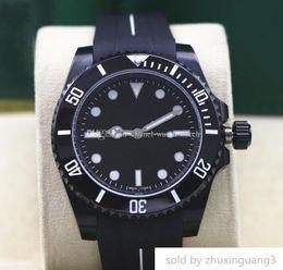 $enCountryForm.capitalKeyWord Australia - Designer Luxury No-date 14060 Black Dial And Ceramic Bezel 40mm Asia 2813 Movement Automatic Mens Wrist Dive Watches Rubber Band