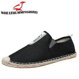 $enCountryForm.capitalKeyWord Australia - Autumn SUMMER Ethnic Style men Espadrille Flats Shoes man Canvas Loafers Insole Fisherman Men casual Shoes LA-12