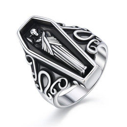 $enCountryForm.capitalKeyWord Australia - 1 Pcs 18 Size Fashion Cool Stereoscopic Egyptian Mummy Ring Punk Ancient Silver Color Mummy Ring For Women Men Jewelry R193-T2-7