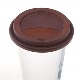 Silicone mug coverS online shopping - 9cm Silicone Cup Reusable Silicone Coffee Milk Cup Mug Lid Cover Bottle Lids for oz oz Cups Food Grade Spill Proof Cover