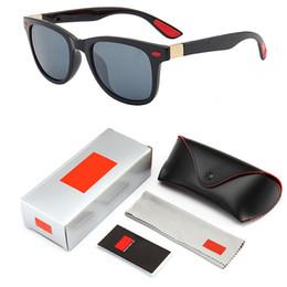 Discount sun box - 2019 Vintage Sunglasses mirror Men's Sun Glasses For Men Square Shades Driving Black Oculos Male 6 Colors Model 419