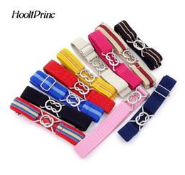 $enCountryForm.capitalKeyWord Australia - Free Shipping Candy Color stripe 1 Inch Wide Kids Children Elastic Waist Belt For Boys Girls