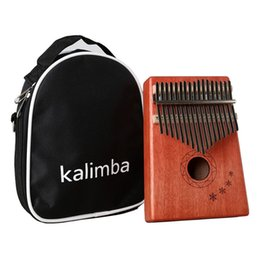 China Crazy2019 Thumb Yisi Karin Ba 17 Sound Piano Beginner Portable Instruments Kalimba Finger Musical Instrument cheap left handed 12 string guitars suppliers