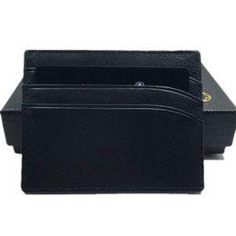 Опт Классический черный натуральная кожа кредитной карты держатель бумажник роскошный бренд MB ID карты чехол для человека мода тонкий портмоне карманный мешок тонкий кошельки