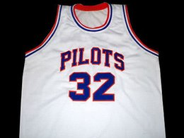 32 Jason Kidd ST. Joseph Pilots High school Retro Top stitched Sewn basketball  jerseys Customize any number and nam XS-6XL vest Jerseys Nca cca62500d