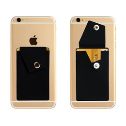 Iphone androId mobIle online shopping - New Design Silicone Mobile Phone Holder With Card Pocket Phone Holder Desktop For Iphone X Samsung Android Tablet
