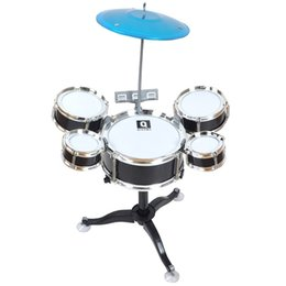 dc94448c7 Professional Children's Percussion Instruments Jazz Drum Combination Set  Musical Toys For Children Kids Drums Percussion Small Stool Drum VB