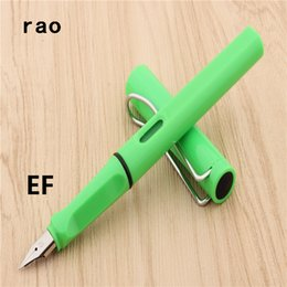 writing sets wholesale UK - Luxury high quality 401 Transparent white student school office Fountain Pen New