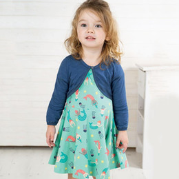 High Quality Tutus Australia - TUTU Child clothing summer short sleeve Pincess dresses for girls cotton 24Month-7Years toddler clothes high quality kids dress wholesale