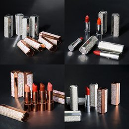 Valentine Lip Australia - 10 colors shinning glitter lipstick Beauty lip makeup long lasting lip stick Sexy matte pigments lips tint Valentine Gift