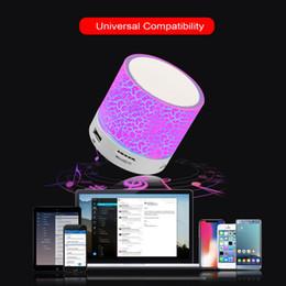 $enCountryForm.capitalKeyWord Australia - Wireless Portable Bluetooth Speaker Mini Led Music Audio Tf Usb Fm Stereo Sound Speaker For phone Computer Column Bluetooth Device A3