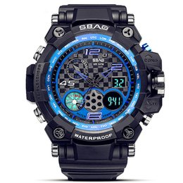 Wrist Watch Japan Movement Australia - Swim G Sports Men's Watch Men Wrist Watches Digital Quartz Alarm Clock 50M Waterproof Top Brand For Man Japan Movement