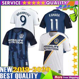 New 2019 LA Galaxy Soccer jersey 19 20 9 IBRAHIMOVIC Los Angeles away  Camisa KEANE GIOVANI ZARDES J.DOS SANTOS football shirts d96b28d75