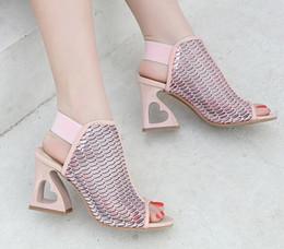 $enCountryForm.capitalKeyWord Australia - Summer fashion fishmouth sandals Summer fashion fishmouth sandals women European and American Roman shoes large wholesale women's shoes