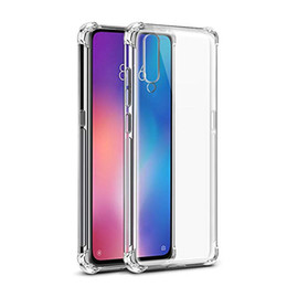 Wholesale For xiaomi CC9 CC9e Redmi A Note Note Pro Note S transparent TPU cellphone case with four corners shockproof K20 K20Pro SE