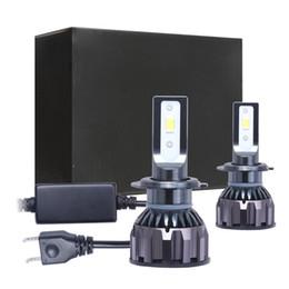 Coppia fanali auto a led per 5202 H1 H3 H7 H11 H13 9004 9006 9007 Mini dimensioni 80W 8000LM DOB LED Kit faro lampadine faro 6500K