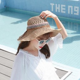 77c9ca72 2019 new hot casual Korean version of the small fresh wild hat sun hat  female summer leisure beach sun hat
