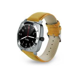 Bluetooth Smart Watch Sim Australia - Wholesale X3 Smart Watch 1.33 Inch Android touch screen Bluetooth Smartwatch Pedometer Sleep Monitor Remote Camera Music SIM Card PK DM88
