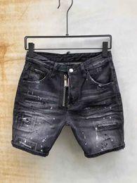 $enCountryForm.capitalKeyWord Australia - new 2019 Men Denim Tearing shorts Jeans Night club blue Cotton fashion Tight summer Men's pants SHORTS Denim Pants mens