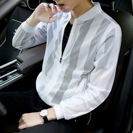 Fashion Thin Mens Jackets Hot Sell Casual Wear Korean Comfort Windbreaker Autumn Overcoat Necessary Spring Men Coat M-3xl Ml097 Jackets & Coats
