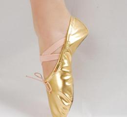 Pink canvas ballet shoes online shopping - 2019 Hot sale Ballet Dance Shoes Comfortable Fitness Breathable Yoga exercise soft canvas Shoes For Kids women Children