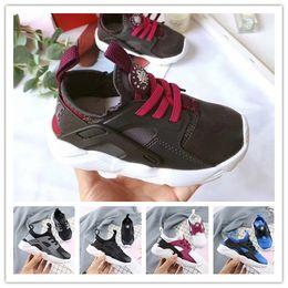 $enCountryForm.capitalKeyWord Australia - Flash Air Huarache Kids 2018 New Running Shoes Infant Run Children sports shoe outdoor luxry Tennis huaraches Trainers Kid Sneakers