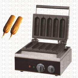$enCountryForm.capitalKeyWord Australia - Commercial Waffle Corn Baker Corn Hot Dog Machine Stick Frying Pan Hotdog Corn Baking Grill 110V 220V