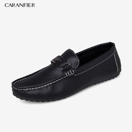 $enCountryForm.capitalKeyWord UK - CARANFIER Mens Loafers Shoes PU Leather Casual Business Solid Color Soft Comfortable Round Toe Breathable Shoe Autumn Hot Sold