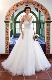 d3a2d9a064 Halter lace up corset wedding dress online shopping - Vestido de Novia  Corset Wedding Dresses Sheer