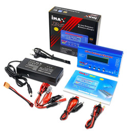 Drone Battery s APBLP Battery Lipro Balance Charger iMAX B6 Lipro Digital Balance Charger + 12V 6A Power Adapter Charging Cables on Sale