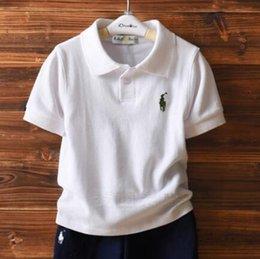 Ingrosso T-shirt manica corta in cotone puro cuhk abbigliamento per bambini per bambini ragazze estate 2019 maglia neonato